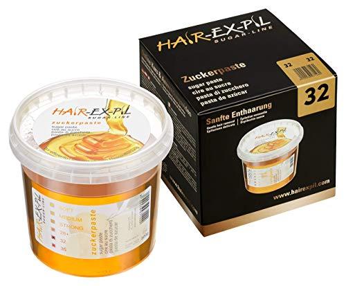 Zuckerpaste 32 - Speziell für den Intimbereich und sehr hohe Umgebungstemperatur. Am besten für Anfänger geeignet. 400gr Sugaring SugarPaste