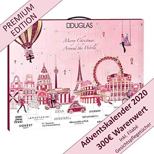Douglas Beauty Adventskalender 2020 -EXKLUSIV Edition Newyork Winter- idealer Frauen + Mädchen Weihnachtskalender, Wert 300€, 24x Marken Kosmetik