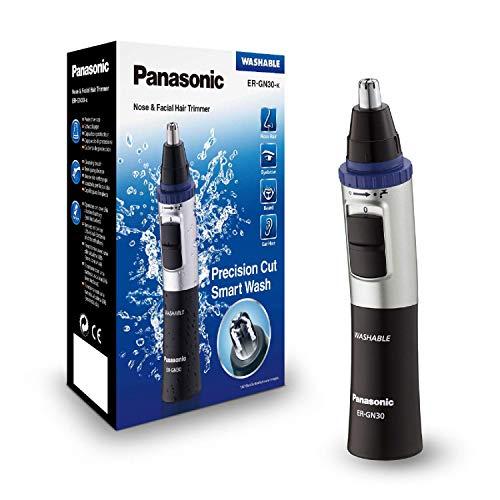 Panasonic Nasen/Ohrhaarschneider ER-GN-30K mit Batteriebetrieb*